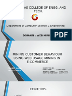 Mining Customer Behaviour Using Web Usage Mining In