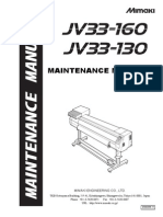 Maintenance Manual: Full-Color Inkjet Printer