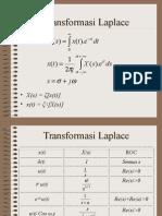 Transform as i Laplace e
