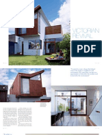 Sanctuary magazine issue 10 - Victorian revival - Melbourne green home profile
