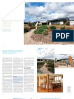 Sanctuary magazine issue 10 - Building your sustainable dream home - green home feature article