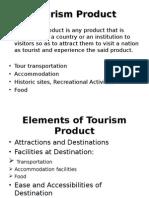 Tourism Management/Product