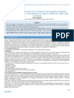 Didactic Practices of Tunisian Teachers in High Sports Institute and Physical Education in the Lmd System
