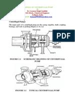 Drawing of Centrifugal Pump
