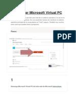 Cómo Usar Microsoft Virtual PC