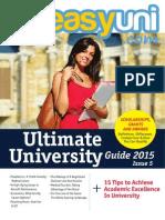 easyuni Ultimate University Guide 2015 issue 5