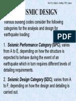Seismic Design