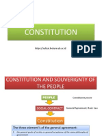 presentation Constitution
