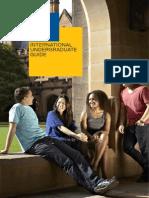 Sydney Uni 2014 International Undergraduate Guide