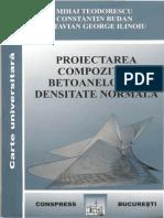 Proiectarea Compozitiei Betoanelor Cu Densitate Normala(Budan)