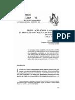 Reyes, Leonora - Crisis, pacto social y soberanía. El proyecto educacional de maestros y trabajadores. Chile, 1920-1925..pdf