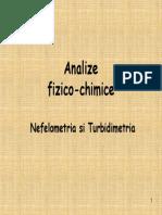 NEFELOMETRIE+turbidimetrie
