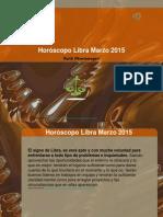 Horóscopo Libra Marzo 2015