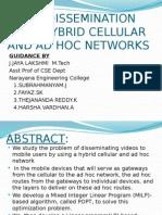 Video Dissemination Ppt