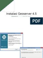 Geoserver  4 - Instalasi