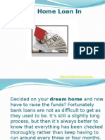 Getting a Home Loan In India