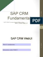 Sap Crm Fundamentals Webui