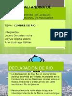 Cumbre de Río