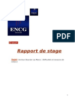 Rapport de Stage Michita Sara