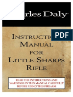 Charles Daly Little Sharps rifle