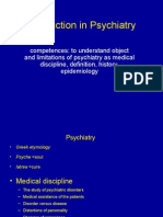 02.Introduction in Psychiatry