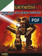 BattleTech Quickstart Rules in Spanish