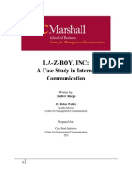 3. LA-Z-BOY INC. a Case Study in Internal Communication