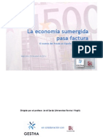 GESTHA Informe Economia Sumergida