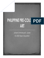 Philippine Pre-colonial Art
