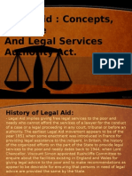 Legal Aid in India Ppt