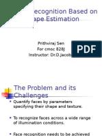 Face Recognition Using 3D Presentation