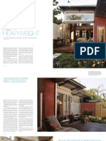Sanctuary magazine issue 10 - Light heavyweight - Adelaide green home profile