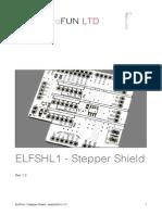 ELFSHL1 - Stepper Shield User Guide