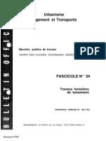 Fascicule 34 - Travaux Forestiers de Boisement