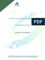 Manual de Instalação e Operação Filtro de Carvão