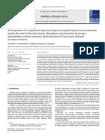 Analytica Chimica Acta Volume 668 Issue 1 2010 [Doi 10.1016_j.aca.2009.10.063] Aristidis N. Anthemidis; Kallirroy-Ioanna G. Ioannou -- Development of a Sequential Injection Dispersive Liquid–Liquid