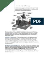 Deconvolution in Optical Microscopy