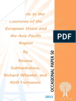 """""""Gas Exports to the Countries of the European Union and the Asia-Pacific Region,"""" by Rimma Subhankulova, Richard Wheeler, and Kirill Furmanov"""