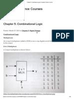 Chapter 5_ Combinational Logic