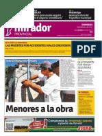 Edición impresa de domingo 8 de febrero de 2014