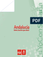 Programa del PSOE andaluz para las autonómicas del 22 de marzo (PDF)