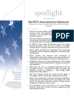 Spotlight 463 The FCC's Anticompetitive Greenlight