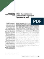 Diario de Campo_pesquisa e Potencialidades