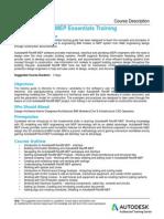Autodesk REVIT MEP Course Description - 3 Days