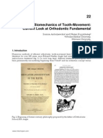 Biomechanics of Tooth Movement Current Look at Orthodontic Fundamental