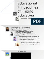 Filipino Education Philosophy (New Slide)