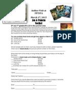 Voelkels Order Sheet