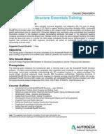 Autodesk REVIT Structure Course Description - 3 Days