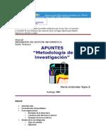 Breve Manual de Motodologia de La Investigacion