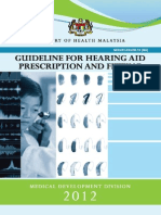 Guideline Hearing Aid Fitting